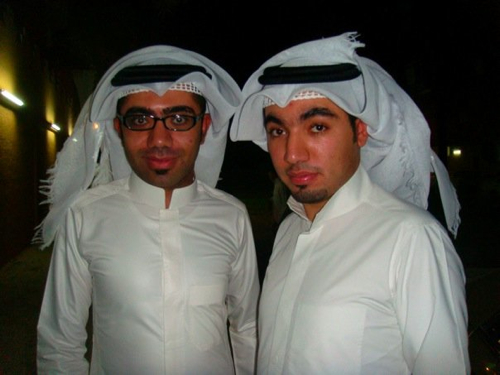 Shemagh style is not gay