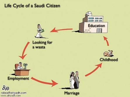 life cycle of a saudi citizen